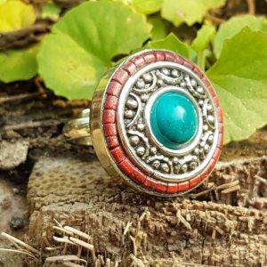 Bohemian boho ibiza tibetaanse ring